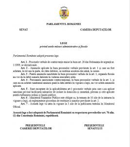 lege anulare proces verbal contraventie avocat